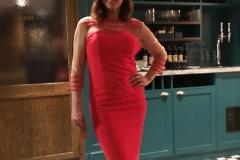 red-posh-dress