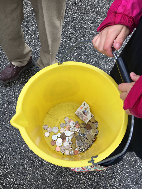 Bucket-money