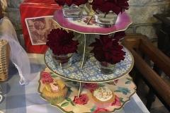FLower-cake-stand