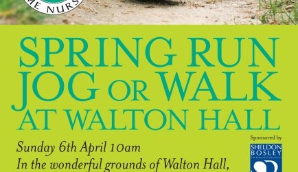 Spring run, jog or walk at Walton Hall