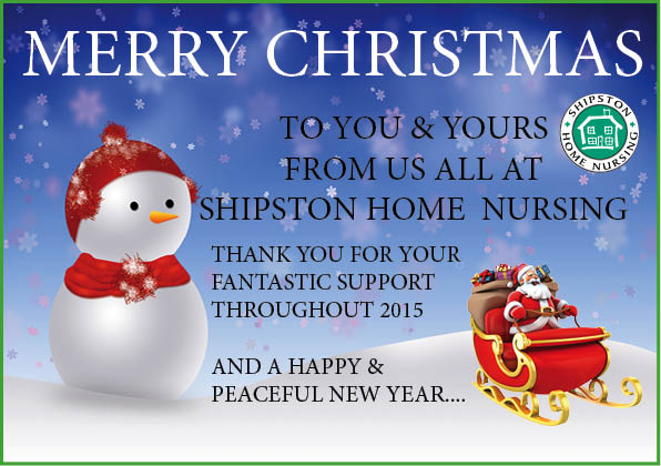 Christmas Messages – Shipston Home Nursing