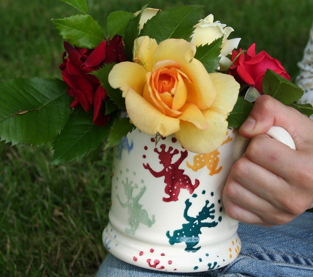 mug 1flowers