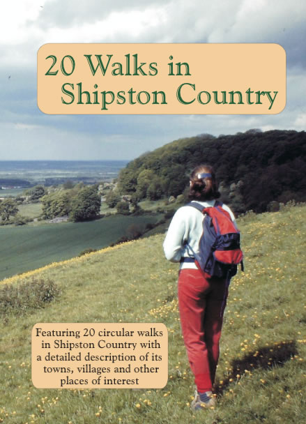 20 Walks Book in Shipston Country