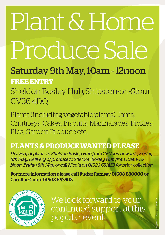 Plant Sale Flier 2015