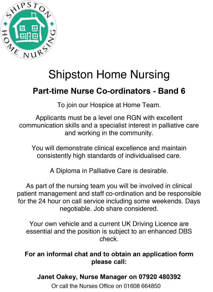 SHN Recruitment Advert - Dig