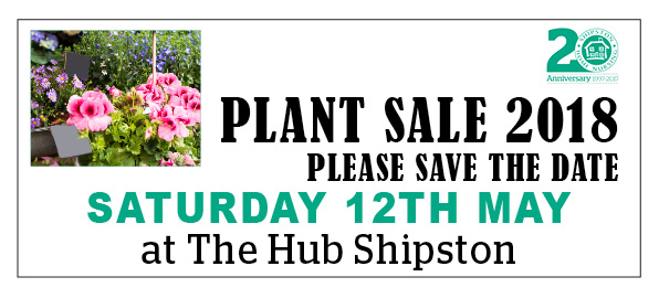 Plant Sale Date 2018 Hilary