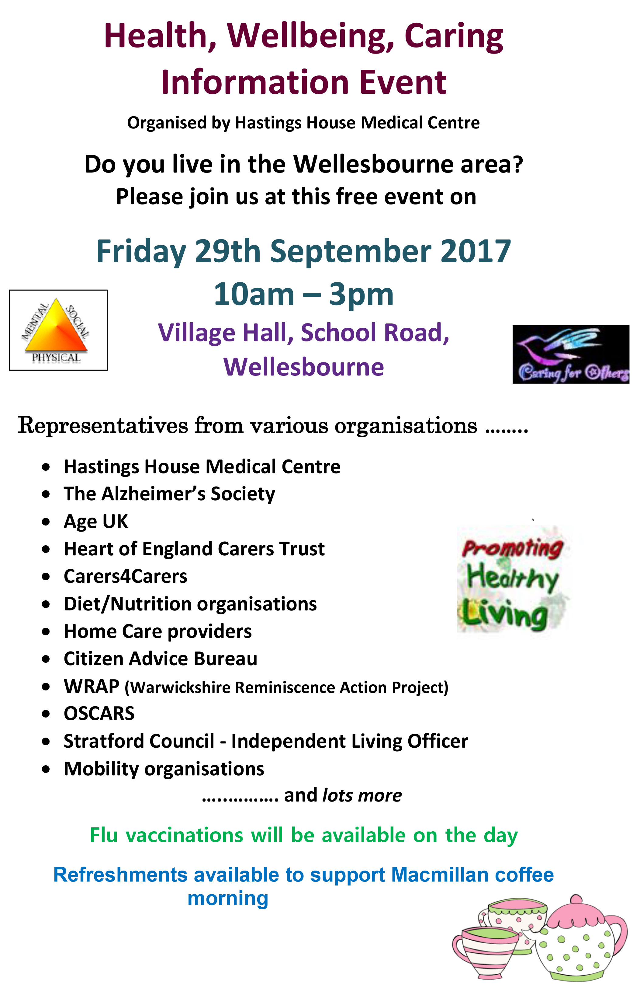 wellbeing Poster 2017