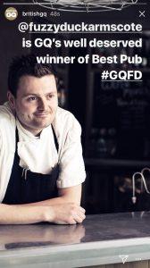 Ben GQ winner