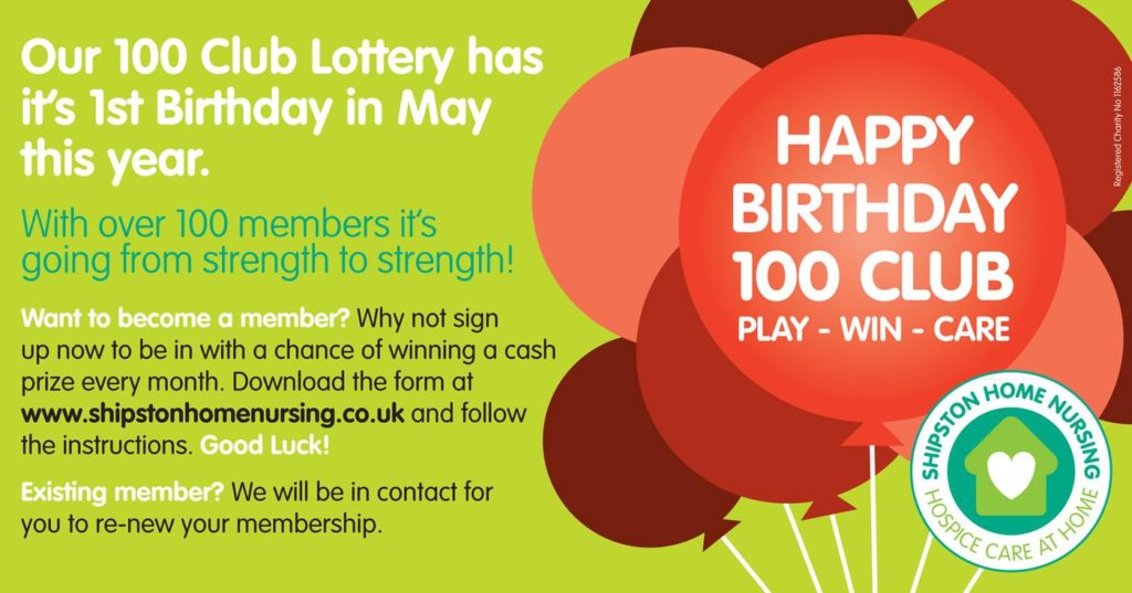 100 CLub Lottery Birthday