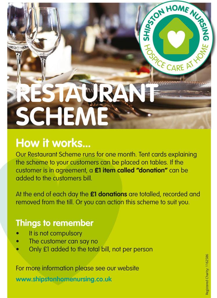 Restaurant Scheme