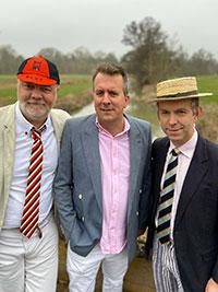 three rowers